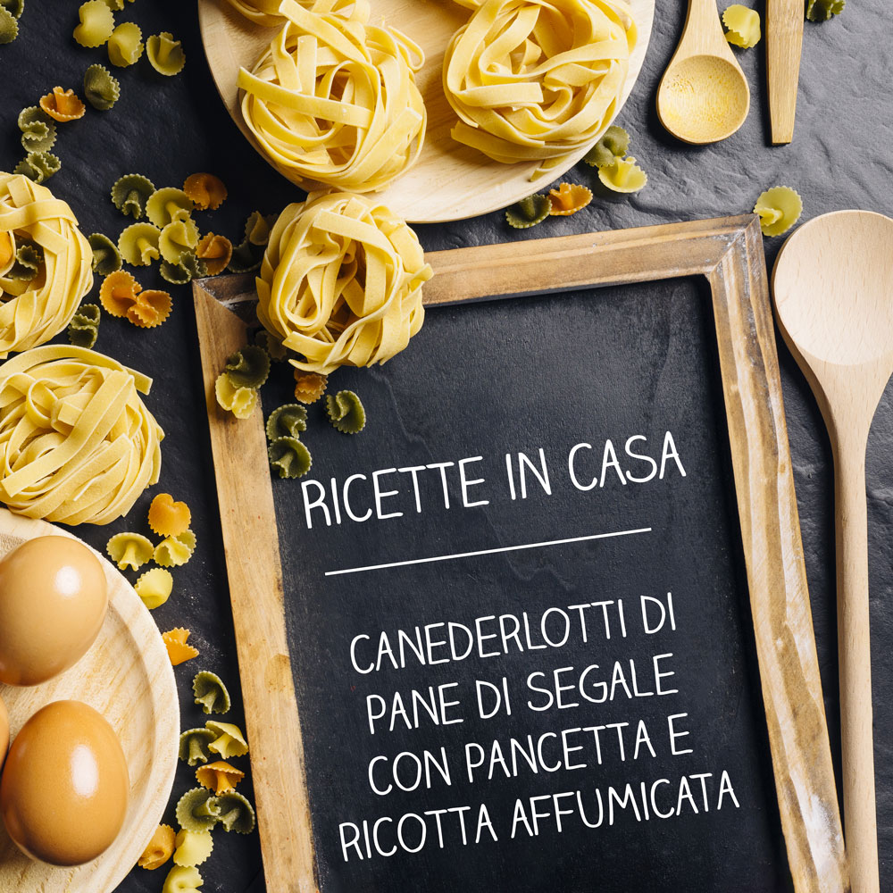 Canederlotti di pane di segale con pancetta e ricotta affumicata - Fiorenzo Varesco - ricette in casa - alpibio