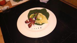 CAPPELLACCI AL TARASSACO CON CACIO-RICOTTA E SPECK CROCCANTE di Chef Max Arer - ricette in casa - AlpiBio