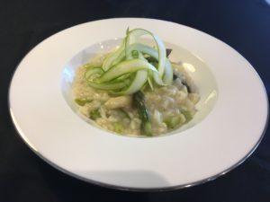 Risotto agli asparagi - coghi del trentino - ricette in casa - AlpiBio