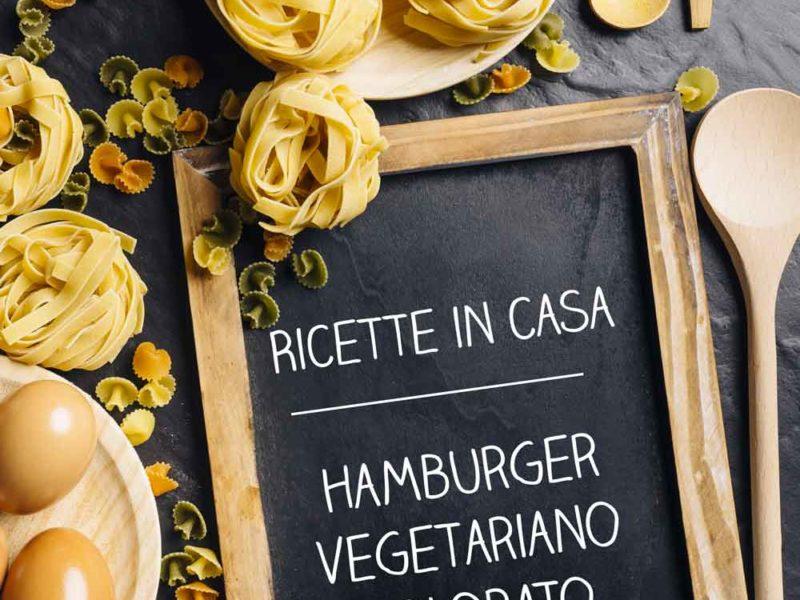 Hamburger Vegetariano Colorato - Federica Facchinelli - Ricette in casa - AlpiBio